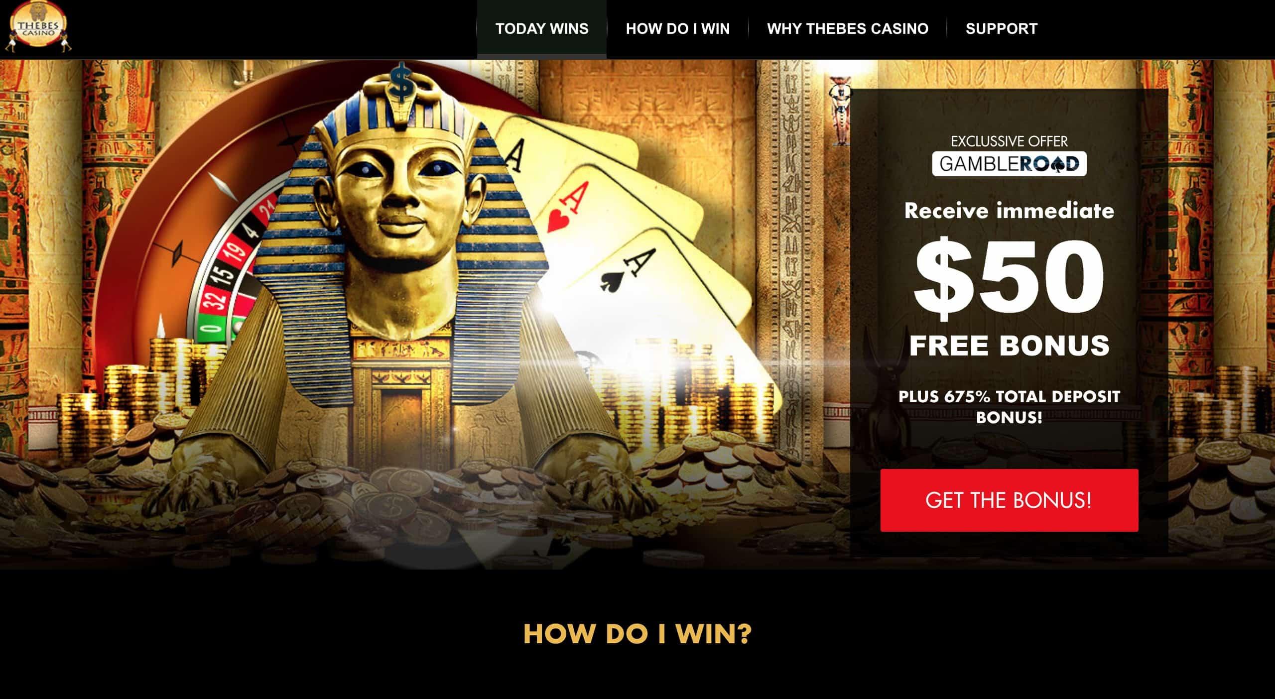 Thebes casino : avis des experts sur le casino des Pharaons